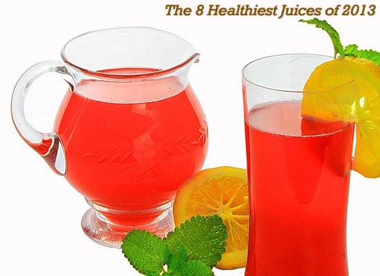 8 Healthiest Juices 2013