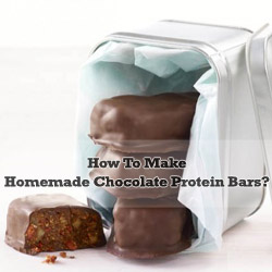 Homemade Chocolate Protein Bars