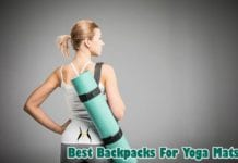Backpacks for yoga mats
