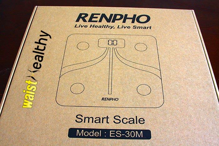 Renpho body-fat scale package