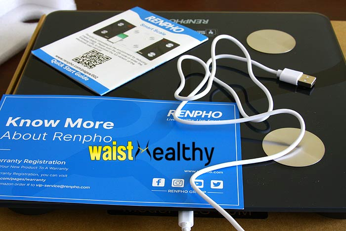 Renpho fat-scale Package Details