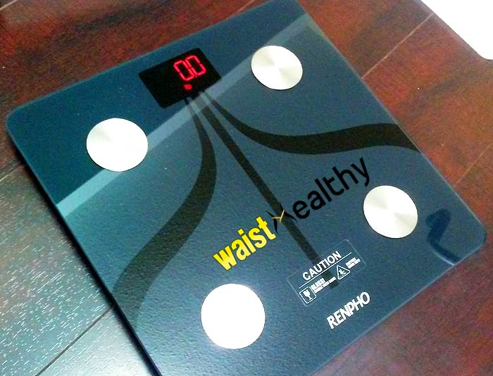 Renpho Weight Scale with 0 lbs