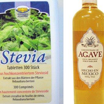 stevia vs agave