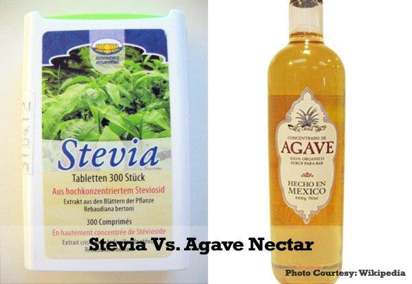 Stevia vs. Agave Nectar