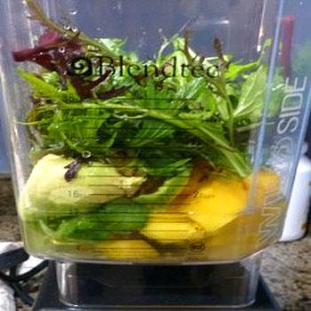 Cilantro Mango Lime Detox Smoothie