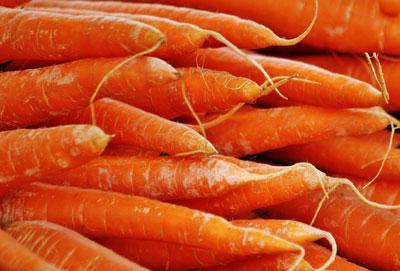 Carrots: Vitamin-A