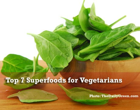 top 6 super foods for vegetarians